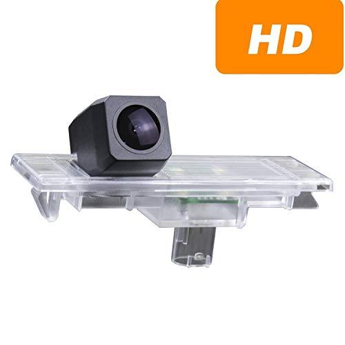 Telecamera di retromarcia aggiornata 1280 x 720p integrata in luce targa telecamera posteriore per BMW Serie 1 M1 F20 F21 135i 116i 118i 120i 135i 2015-2018