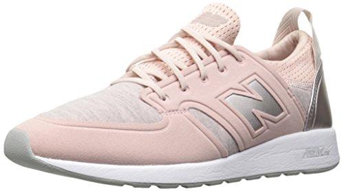 New Balance Women's 420 V1 Sneaker, Faded Rose/Champagne Metallic, 8 B US