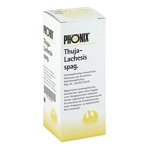 PHÖNIX THUJA lachesis spag.Mischung 50 ml