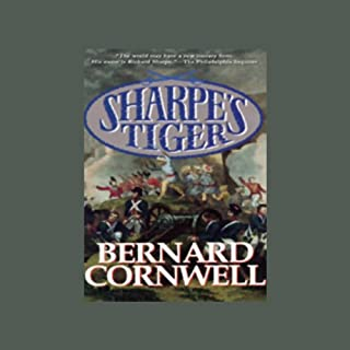 Sharpe's Tiger audiobook cover art