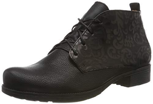 Think! Damen Denk_585017 Desert Boots, Schwarz (Schwarz 00), 38 EU