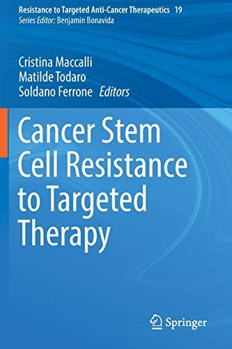 Cancer Stem Cell Resistance to Targeted Therapy Resistance to Targeted Anti Cancer Therapeutics product image