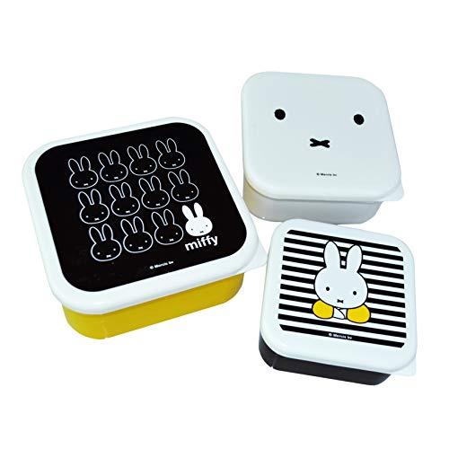 Miffy Vorratsdosen | 3er Set Behälter | 100% BPA-frei