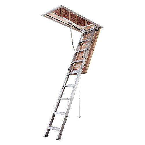 Attic Ladder, IAA, 375 lb, 3 in. Step W