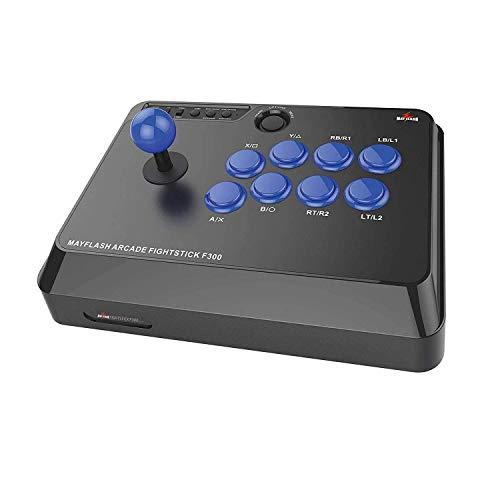 Mayflash ジョイスティック F300 PS4/PS3/XBOX ONE/XBOX 360/PC/Android/Nintendo Switch/Neogeo mini対応 [日本正規品]