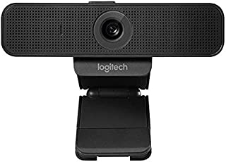 Logitech C920 HD Pro Webcam, Full HD 1080p/30fps Video Calling, Clear Stereo Audio, HD Light Correction, Works with Skype,...