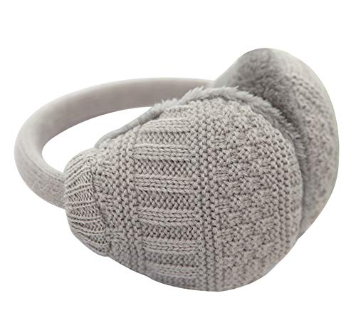 ouying1418 Keep Warm Men Women Fleece Warmer Earmuff Warm Plush Cloth Ear Muffs Cover