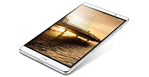 Huawei 53015072 MediaPad M2 Tablet 20.32 cm (8 Zoll) Tablet (ARM, 2GB RAM, 16GB HDD, Android) silber