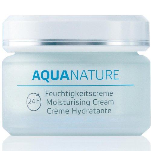 Aqua Natur, 24h Feuchtigkeitscreme, 1,69 Flüssigunzen (50 ml) - Annemarie Börlind