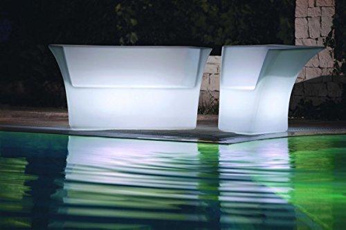 Modum LED beleuchtetes Lounge-Set Cairo in italienischem Design