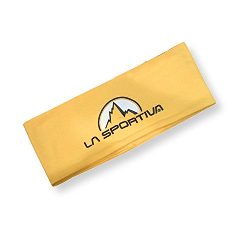 LA SPORTIVA Team Headband, Yellow, one Size