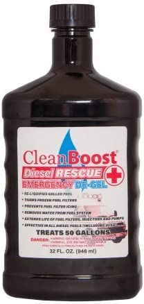 Inexpensive CleanBoost half Diesel Rescue 32oz