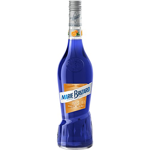 Marie Brizard Curacao Bleu Crema de Licor - 6 botellas x 700ml- Total: 4200ml