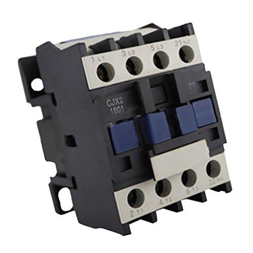 joyMerit Interruptor de Alimentación Del Contactor de CA Del Relé de Arranque Del Motor de 24V-380V Trifásico 1NO 50 / 60Hz - 220v