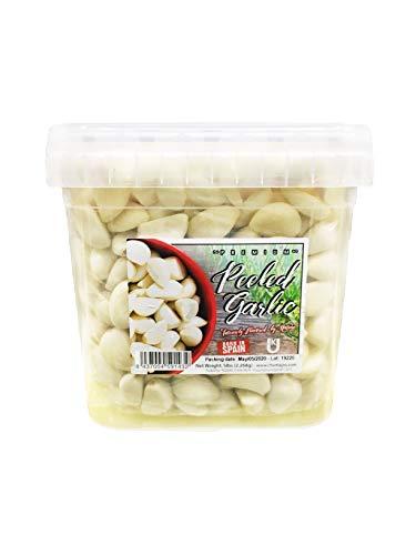 Premium Fresh Peeled Garlic Cloves 5 Pound (Pack of 1)