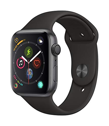 Apple Watch Series 4 (GPS, 44mm) - Space Grey Aluminium Case with Black Sport Band