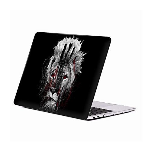 Head Case Designs Oficial Riza Peker León Animales 3 Carcasa Rígida Compatible con Macbook MacBook Pro 13' A1989 / A2159
