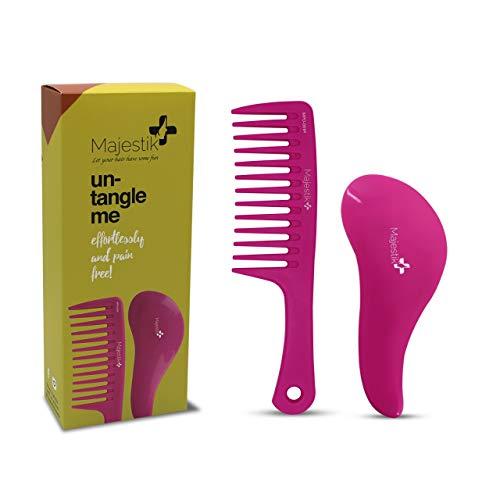 Set mit Bürste und Kamm zum Entwirren der Haare – das beste Haarentwirrungs-Set für keine Knoten mehr, keine Tränen mehr.