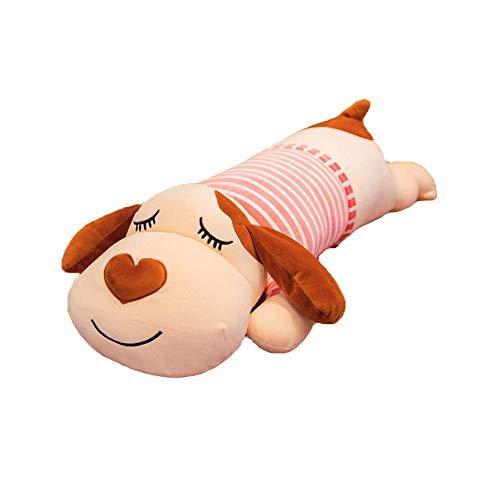 JWShang Bonita almohada de abrazo, cómoda decoración del hogar, cojín de asiento para habitación de niños o niñas, cojín en forma de perro con forma de animal de peluche