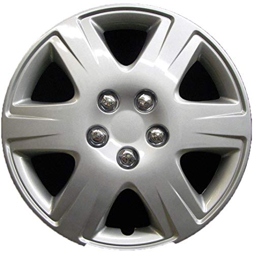 Premium Replica Hubcap, Replacement for Toyota Corolla 2005-2008, 15-inch Wheel Cover (1 Piece)
