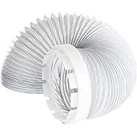 Indesit Manguera de Ventilación y Adaptador Kit Secadora de Ropa (2 Metros, 4