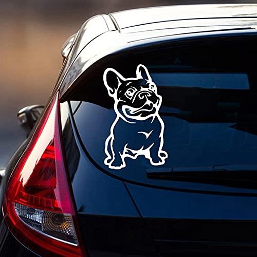 Lindo Bulldog Francés Adorable Cachorro Perro Mascota Animal Nevera Etiqueta Engomada Del Coche Vinilo Etiqueta de La Pared Calcomanía Niño Niños Dormitorio Sala de estar Decoración para el hogar