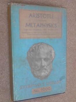 Hardcover Aristotle's metaphysics (Everyman's Library. No. 1000) Book