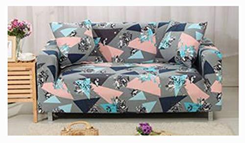 DaiHan Sofá elástico Funda de poliéster Spandex Tejido de Tela Fundas de sofá Sofá Protector de Muebles AsPic21 1xCushionCover(45x45cm)