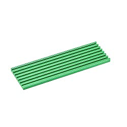 uxcell M.2 Aluminum Heatsink 70x22x3mm E-Shape Green for 2280 SSD