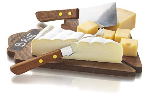 BOSKA 701043 Taste Set Duo Fromage 2 Planches 1 Couteau