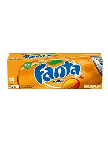 Fanta Mango 12 FL OZ (355ml) [12 Pack]