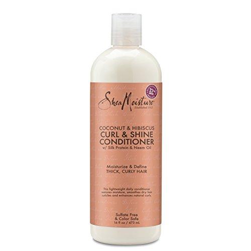SheaMoisture Coconut & Hibiscus Curl & Shine Conditioner | 16 fl. oz.