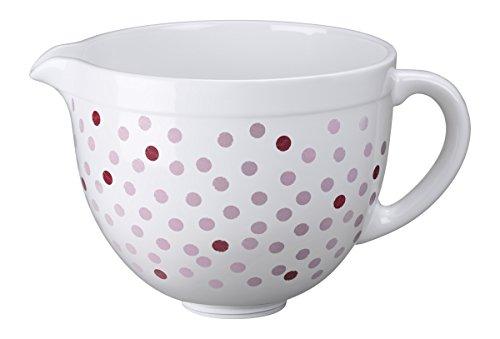 Ciotola in ceramica da 4,8 L - Pois Rosa IKSMCB5NPD