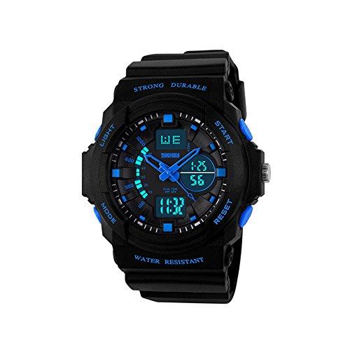 Digital Deportivos Relojes de Pulsera LED Outdoor Multifuncional Electrónica Plástico Goma Relojes...
