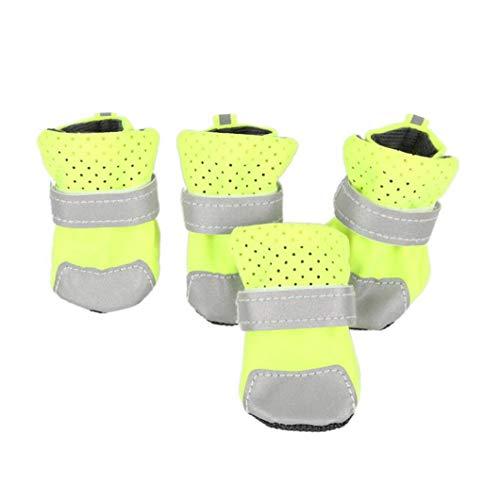 Donad Kleine Haustiere Schuhe Regen reflektierende befestigungsgurte atmungsaktive Stiefel leinwand wasserdichte Stiefeletten pfotenschutz
