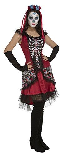 Desconocido My Other Me-204051 Disfraz Sugarskull para niña, M-L (Viving Costumes 204051)