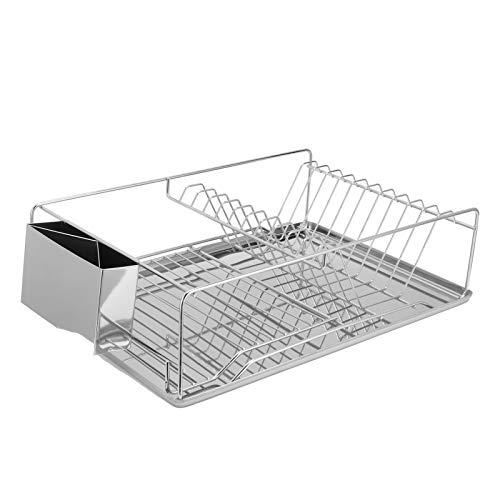 Rejilla para platos, Rejilla para almacenamiento de platos, Organizador de cocina, Utensilios de cocina con soporte para palillos para la cocina