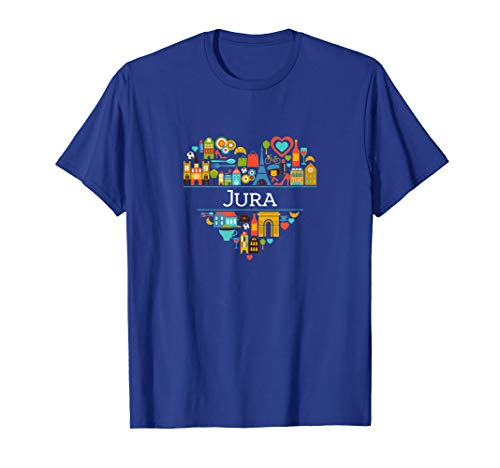 I Love France: Jura | Jura, French Pride T-shirt