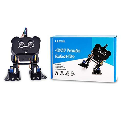 HARTI DIY Roboter Kit Programmierbare Tanzroboter Kit Für Arduino Nano Electronic Toy/Support Android App Control, Smart Roboter Montage Kit Für Kinder Erwachsene