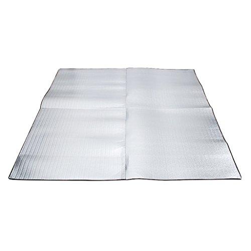 F Fityle Cojín de La Estera del Colchón El Dormir del Papel de Aluminio para El Picnic Que Acampa Al Aire Libre - 200x200