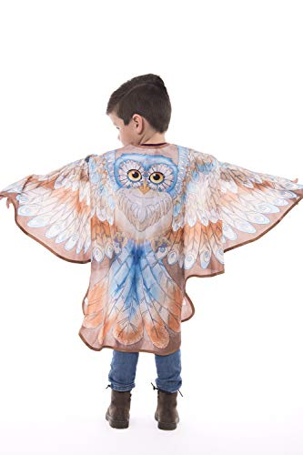 Little Adventures Animal Wing Capes (Owl, Large Age 5-9)