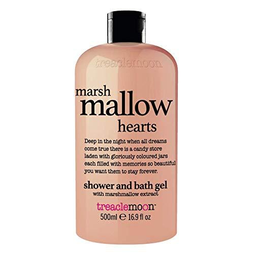 Treaclemoon marsh mallow hearts bath and shower gel 500 ml/UK Version