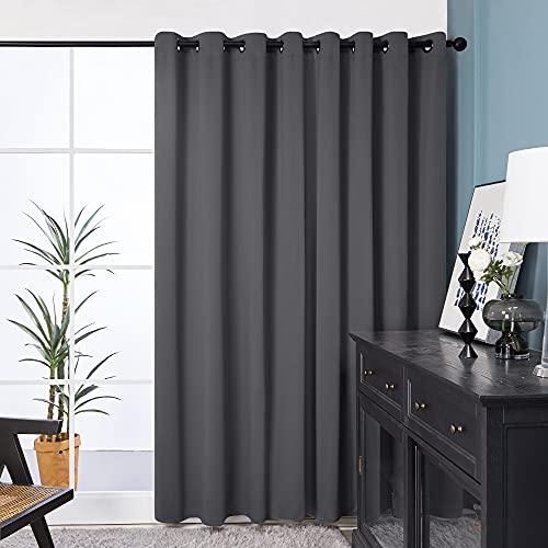 Deconovo Gery Wide Width Curtains for Patio Door - Room...