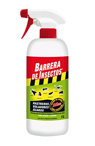 Compo 2036302011 Barrera Insecticida para Insectos Rastreros y voladores, Pulverizador, Acción de Choque de hasta 3 Meses, 1 L 🔥