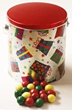 Scott's Cakes Holiday Mix Gourmet Chocolate Malt Balls in a Gifts Galore Pail