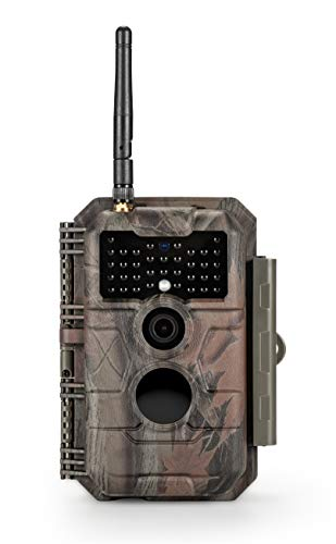 GardePro E6 Trail Camera WiFi Bluetooth 24MP 1296P Game Camera with No Glow Night Vision Motion Activated Waterproof for Wildlife Deer Scouting Hunting or Property Security, Camo