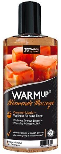 WARMup - 6181870000 - Huile chauffante comestible gout caramel - 150 ml