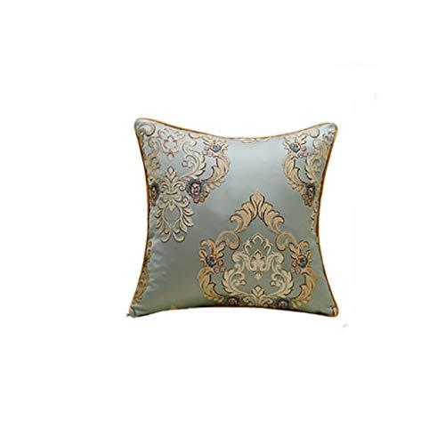 Coussin texture oreiller salon canapé coussin noyau lit arrière oreiller oreiller lombaire 2 pack 45 * 45 cm (Couleur : A)