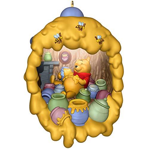 Hallmark Keepsake Christmas Ornament 2019 Year Dated Disney Home Light, Winnie The Pooh Hunny