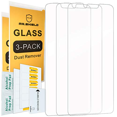 [3-PACK]-Mr.Shield For Motorola (Moto G7 Supra) [Tempered Glass] Screen Protector with Lifetime Replacement